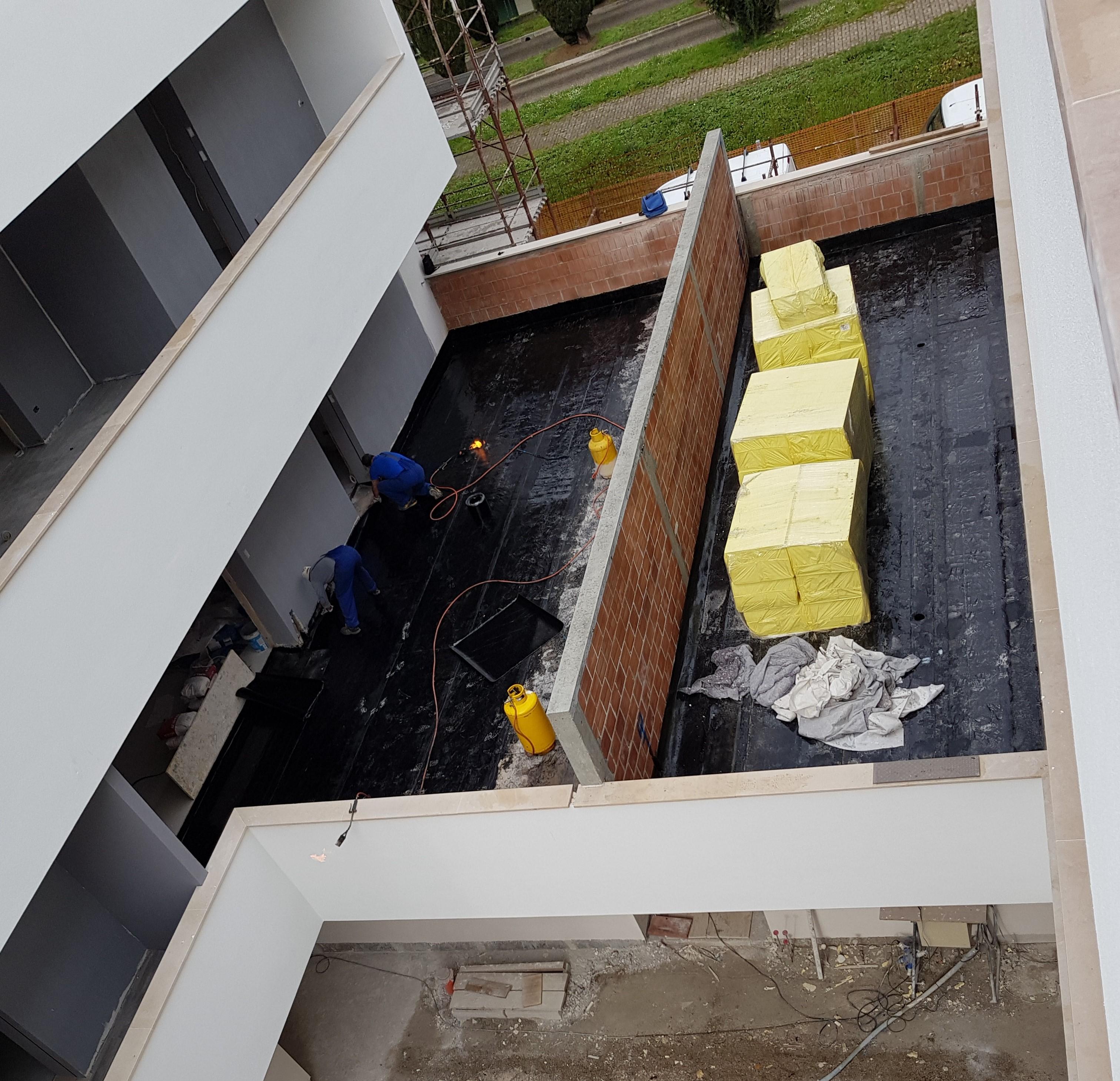 Impermeabilizzazione terrazze - Residenze Savoia s4/s5